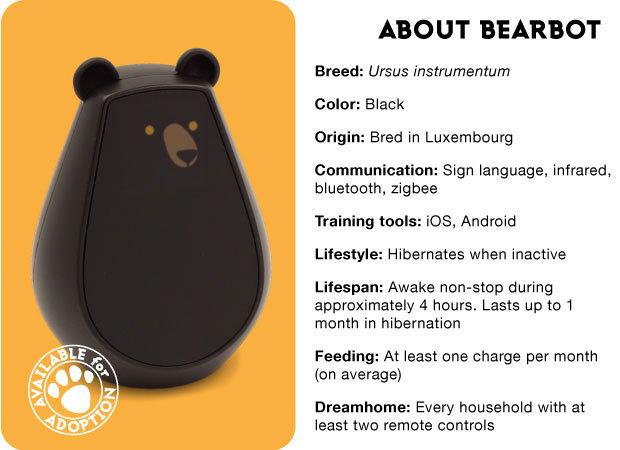 geek geschenke bearbot lost in drones
