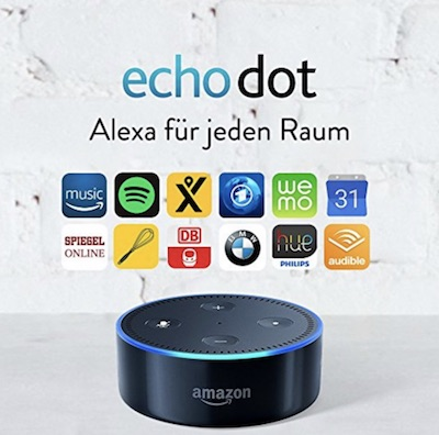 amazon echo dot cyber monday woche