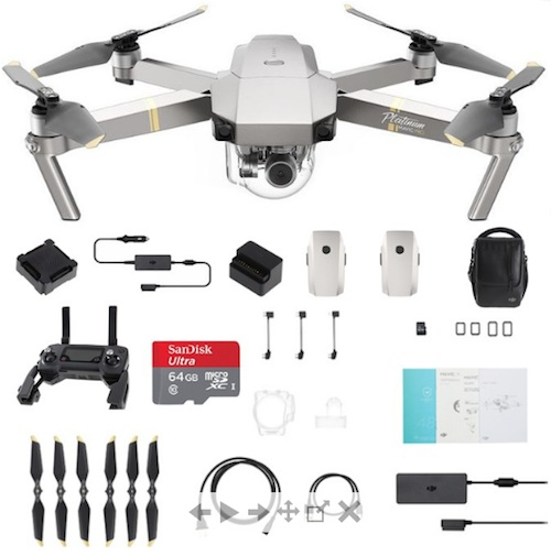 dji mavic pro platinum fly more combo tomtop lieferumfang paketinhalt